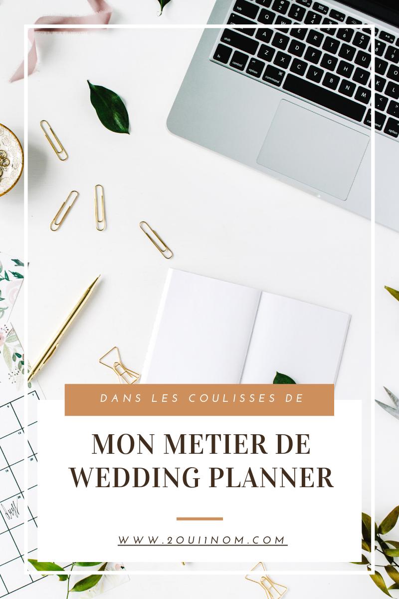 Mon métier de Wedding Planner