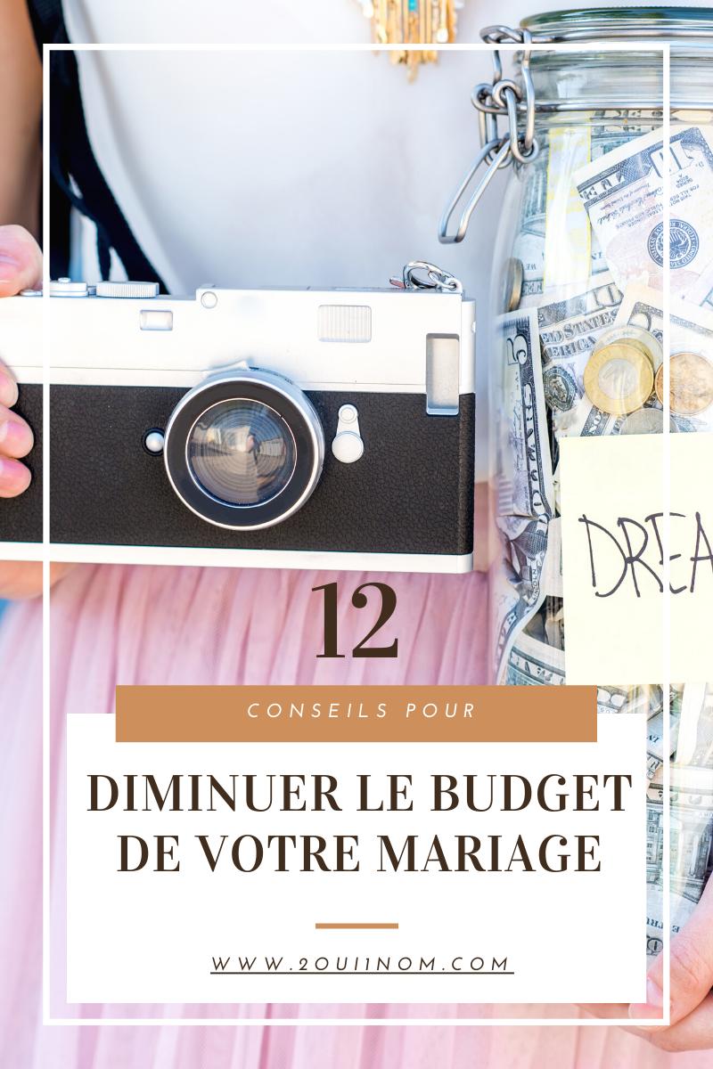 12 Conseils pour diminuer le budget de votre mariage