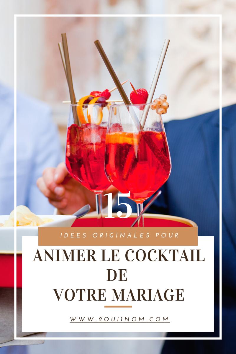 15 bars originaux pour animer votre mariage