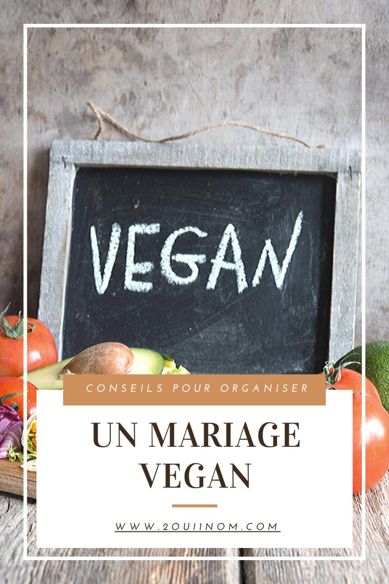 Un mariage Vegan pour qu'il vous ressemble