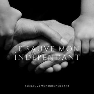 je sauve mon indépendant