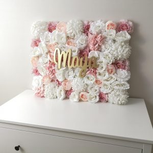 tableau fleurs artificielles